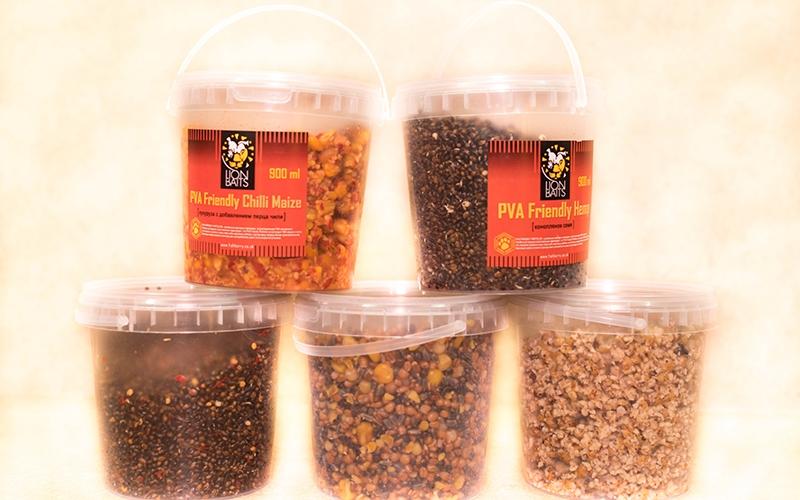 Зерновая смесь Lion Baits ожидается в поступление