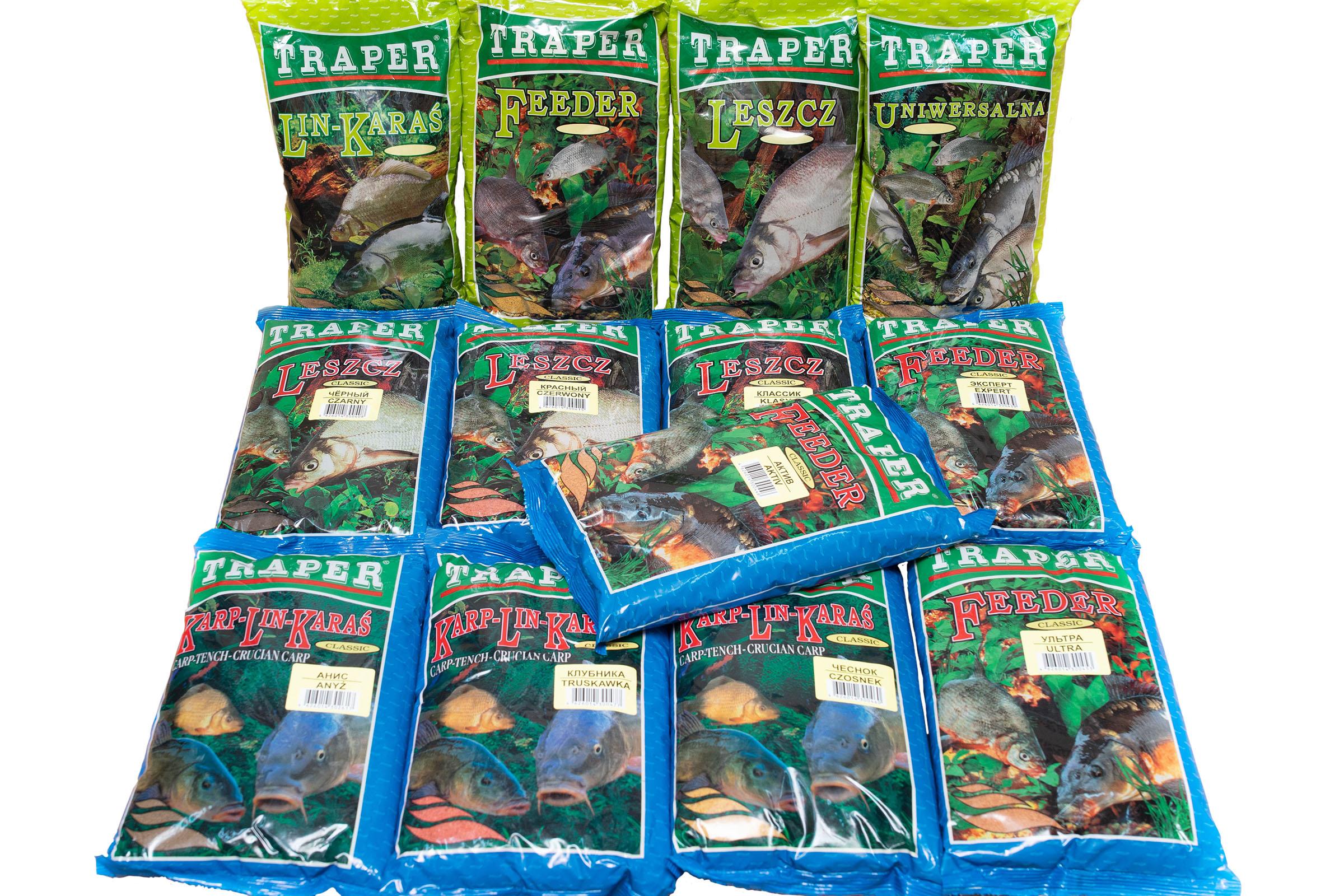 Прикормка Traper Трапер (Польша) 1 кг